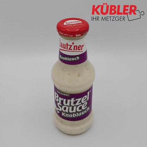 Sauce Brutzelsauce Knoblauch 250ml Flasche