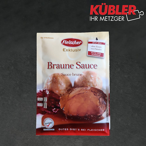 Sauce Braune Sauce Fleischer 20g Beutel