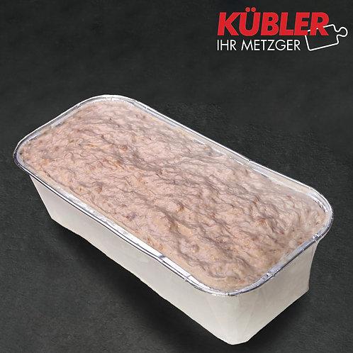 Fleischkäse grob roh 1 kg
