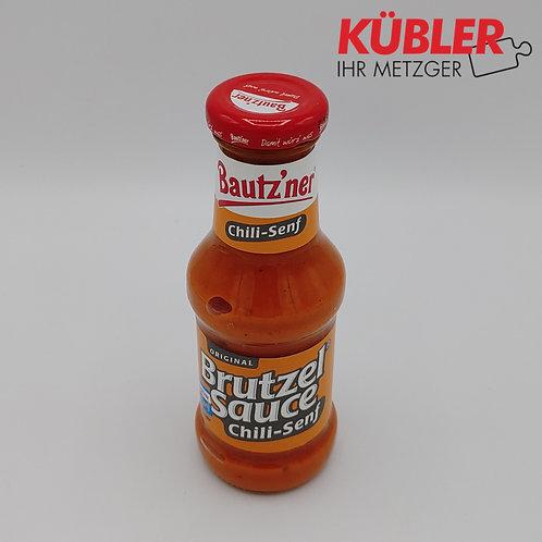 Sauce Brutzelsauce Chili Senf 250ml Flasche