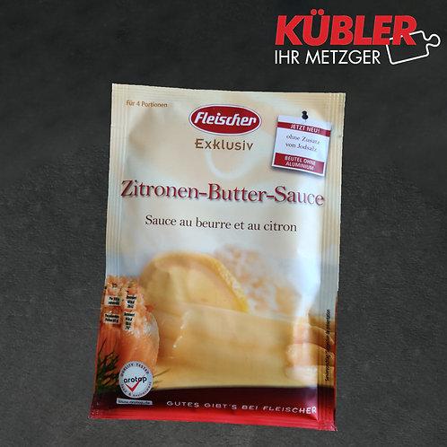 Sauce Zitronen Butter Sauce Fleischer 37g Beutel