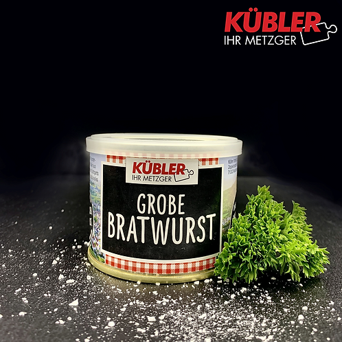 Grobe Bratwurst 200g Dose