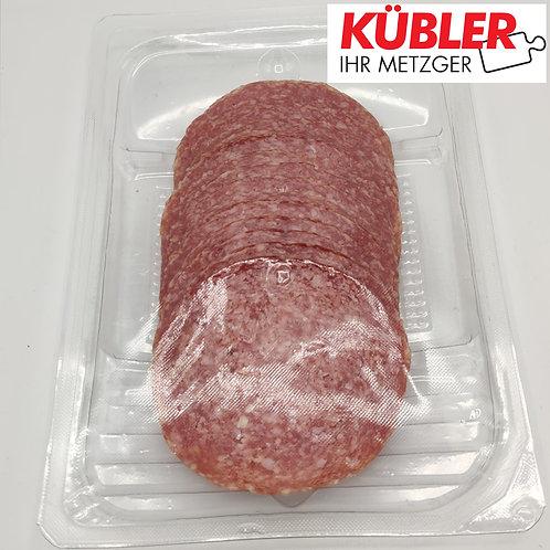 Salami Hausmarke geschnitten 100g Packung