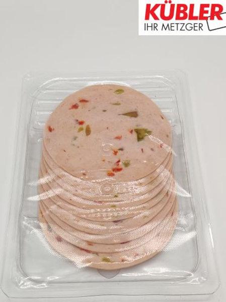 Lyoner Paprika geschnitten 100g