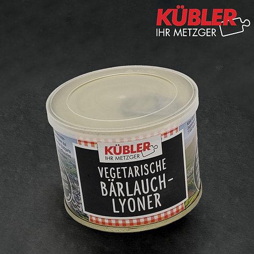 Lyoner mit Bärlauch VEGETARISCH 200g Dose