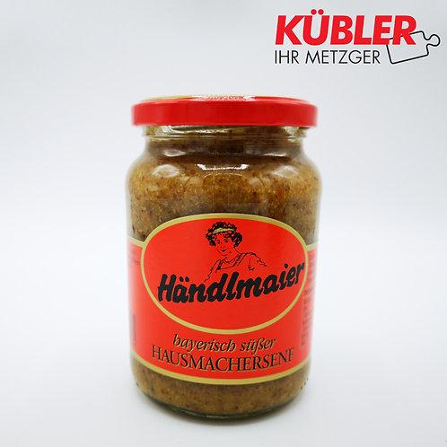 Senf süss zur Weißwurst Händlmaier 335ml Glas