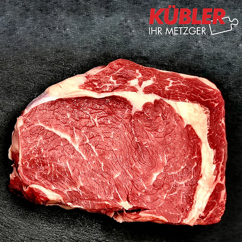 Rinder Rib Eye Steak 350g Stück