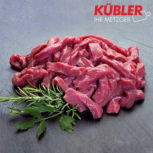 Rinder-Geschnetzeltes 500g Packung
