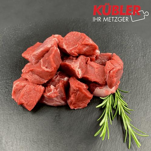 Wildschwein-Gulasch Edel 1kg/Pck