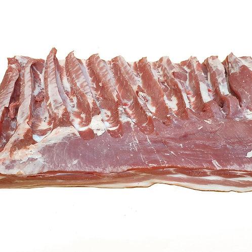 Schw.-Bauch am Stück ohne Schwarte u.Knochen 1kg