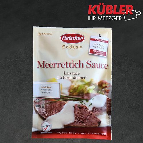 Sauce Zubereitung für Meerrettich Sauce Fleischer 40g Beutel