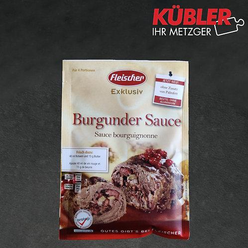 Sauce Zubereitung für Burgunder Sauce Fleischer 30g Beutel