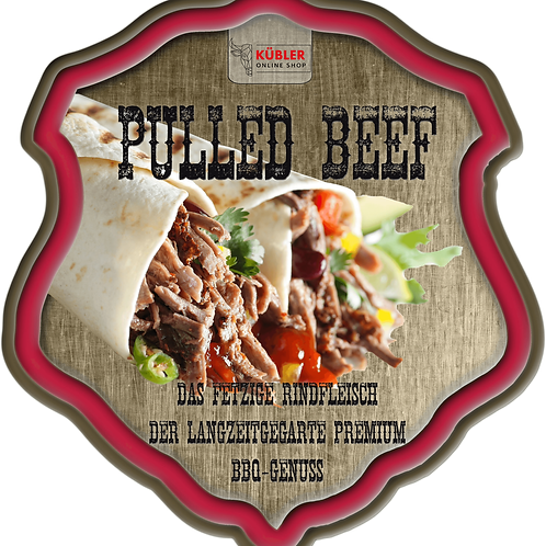 Pulled Beef, 1kg