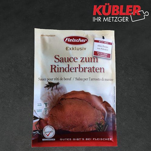 Sauce zum Rinderbraten Fleischer 25g Beutel