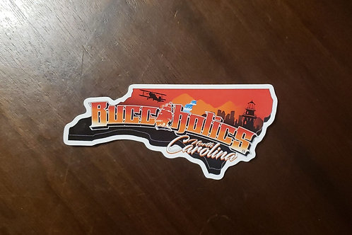 Buccaholics North Carolina Stickers