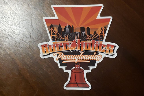 Buccaholics Pennsylvania Sticker
