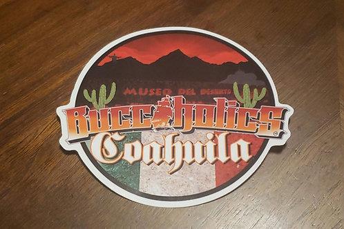 Buccaholics Coahuila MX Sticker