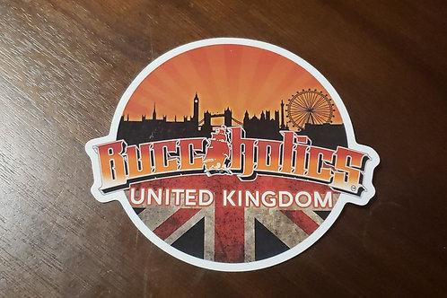 Buccaholics UK Sticker