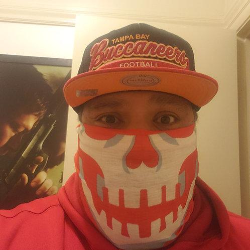 Buccaholics Skull Face Bandana