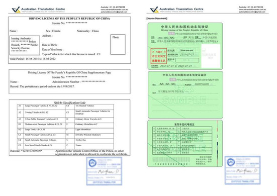 Driving License Type I