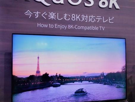 テレビはどこまで進化するのか!?4Kの次は8Kだそうです!!