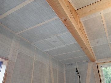 フラット天井施工後