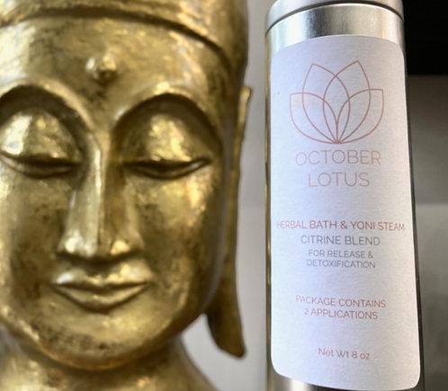 Citrine Blend Herbal Bath & Yoni Steam (Release)