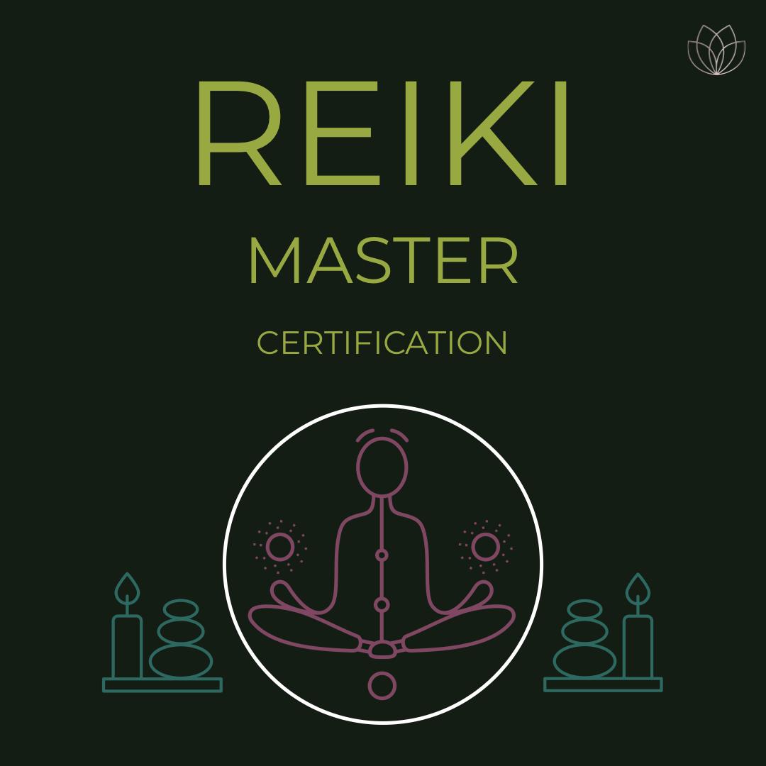 Reiki Master Training & Certification