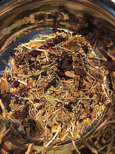 Hibiscus Blend Herbal Bath, Yoni Steam & Herbal Tea (Menorrhagia)