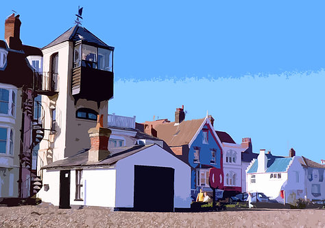 Aldeburgh Looking - Signed Giclée Print