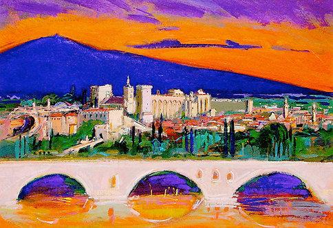 Avignon I - Signed Giclée Print