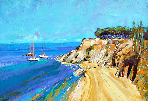 Blue Bay - Signed Giclée Print