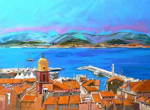 Saint Tropez II - Signed Giclée Print