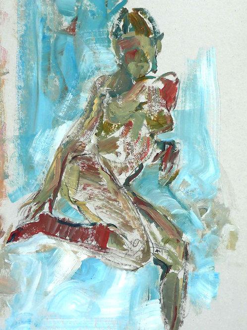 Nude II - Signed Giclée Print