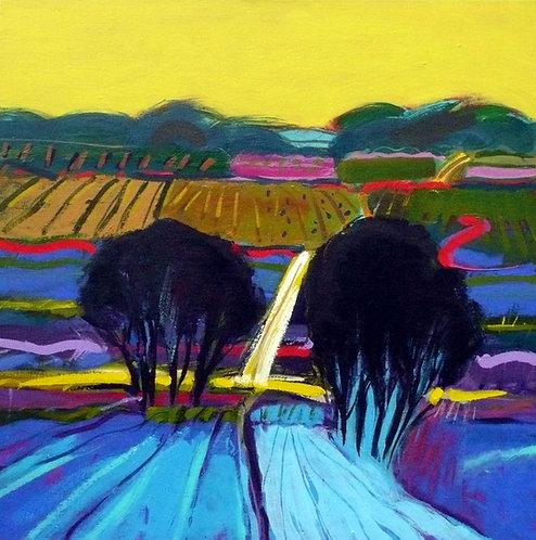 Stripe Field - Signed Giclée Print