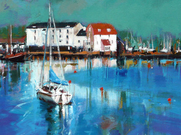 Original paintings and framed prints available at the Taplin Gallery, Woodbridge