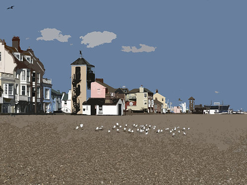 Sea Gulls I - Signed Giclée Print