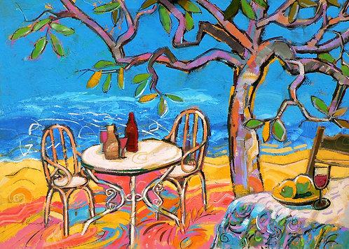 Table Tree VI- Signed Giclée Print