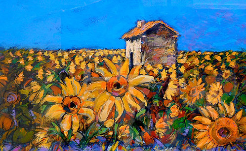 Sunflower - Signed Giclée Print