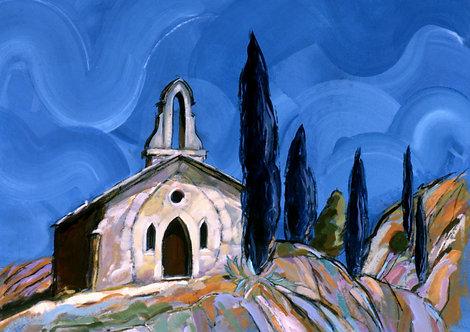 Church II - Signed Giclée Print
