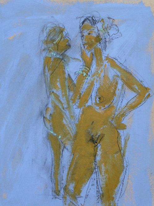 Pastel Blue - Signed Giclée Print