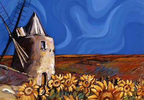 Windmill - Signed Giclée Print