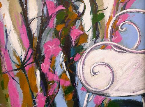 Pink Chair III - Signed Giclée Print
