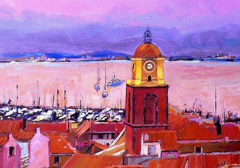 Saint Tropez I - Signed Giclée Print