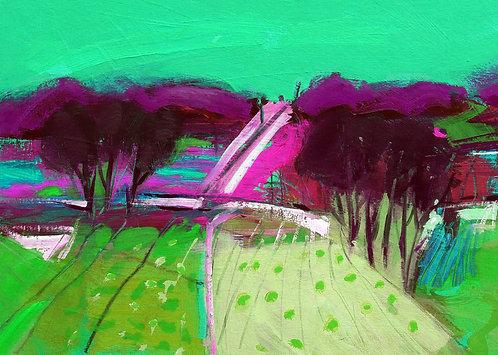 Strawberry Field IIII - Signed Giclée Print