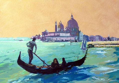 Venice Lagoon - Signed Giclée Print