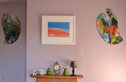room set framed print