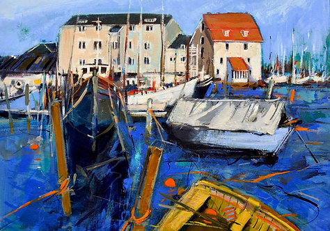 Tide Mill Woodbridge II - Signed Giclée Print