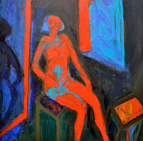 Nude Red - Signed Giclée Print