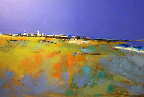 Ochre Orange Southwold - Signed Giclée Print